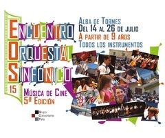 Encuentro Orquestal Sinfónico de Alba de Tormes con música de cine