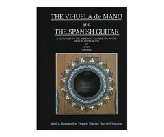 Vendo libro The Vihuela de mano and The Spanish Guitar