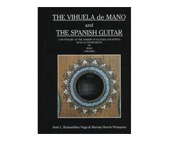 Vendo libro The Vihuela de mano and The Spanish Guitar