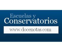 Guía de Conservatorios y Escuelas de música y de Danza