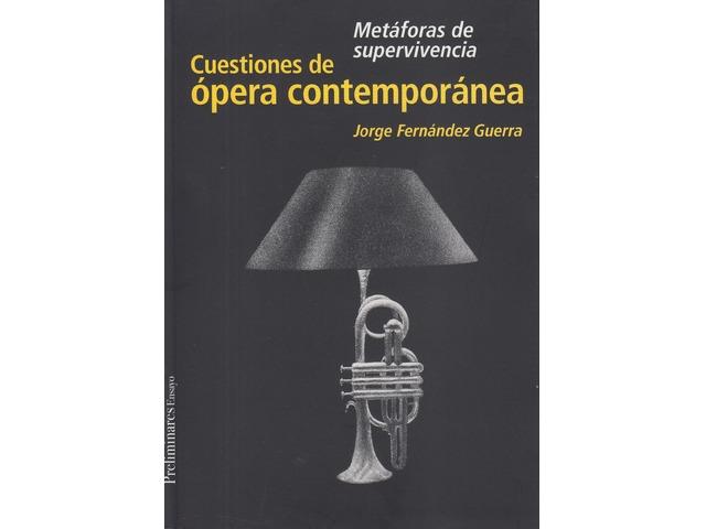 Cuestiones de ópera contemporánea