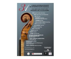31º Cursos Internacionales de Interpretación Musical Eduardo del Pueyo