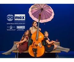 The Funamviolistas, baile y mucha música en el Teatro Campos Eliseos