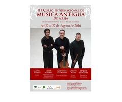 III Curso Internacional de Música Antigua de Arija (Burgos) 2016