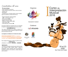 I Curso de Interpretación Musical Hazzart