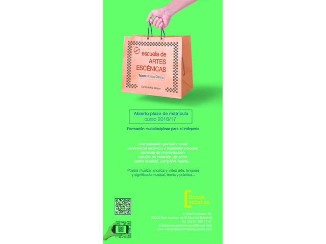 Escuela de Música y Artes Escénicas Matisse Curso 2016/17
