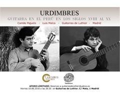 Urdimbres. Guitarra en el Perú sXVIII-XX