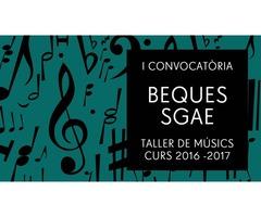 Abierta la convocatoria de BECAS SGAE para estudios musicales
