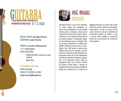 Masterclass de Guitarra con el Maestro JOSÉ MIGUEL MORENO