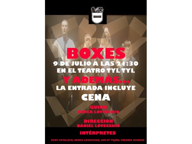 BOXES más CENA!