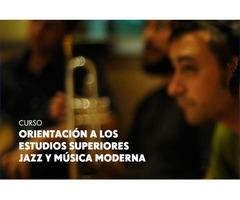 Curso de Orientación a los Estudios Superiores  de Jazz y Música Moderna