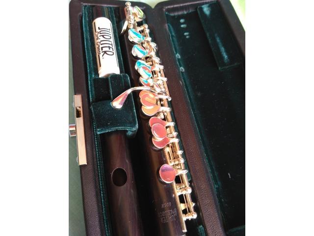 Vendo flautin Jupiter modelo 905, madera de granadillo
