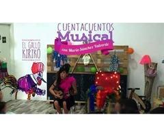 Cuentacuento musical con El Gallo Kiriko