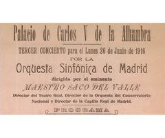 Curso de Análisis Musical: Noches en los jardines de España