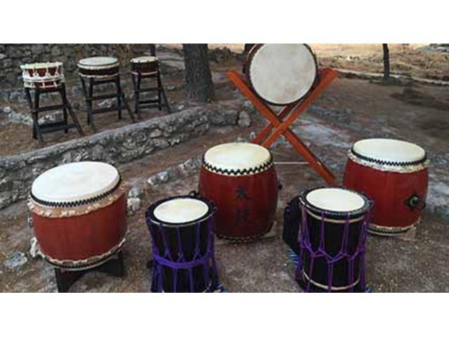 Taller de Taiko, el arte de la percusión japonesa