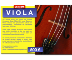 Se vende Viola 35,5 cm