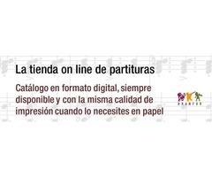 Publicación, descarga y venta de partituras para banda en pdf
