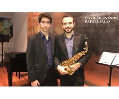 David Hernando // Rafael Salas. Saxofón y piano.