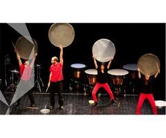 Grupo de Percusión Timbarimba con Pum Tiki Taka Chás!