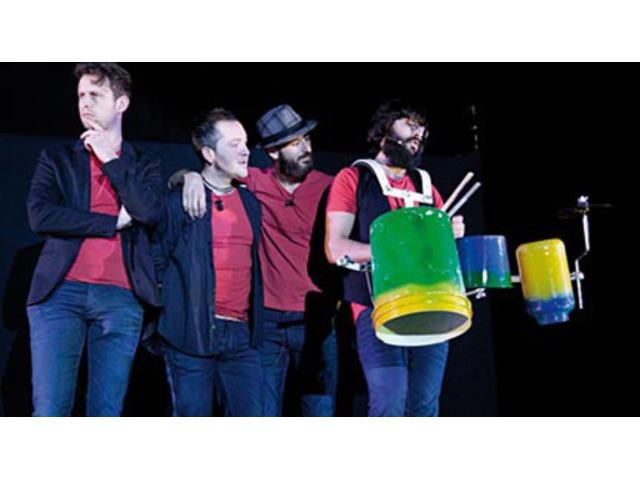 El grupo de percusión Odaiko, en el Centro Cultural Miguel Delibes, con 'Invención'