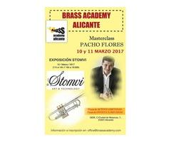 Masterclass trompeta Pacho Flores 10 y 11 de marzo
