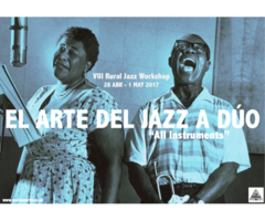 VIII RURAL JAZZ WORKSHOP - EL ARTE DEL JAZZ A DÚO