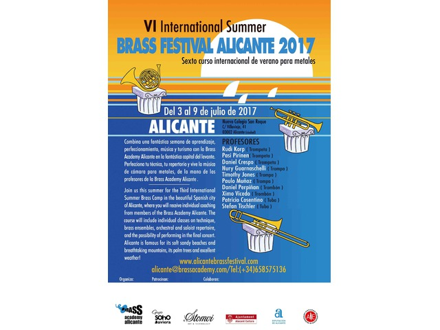 VI International Summer Brass Festival Alicante 2017