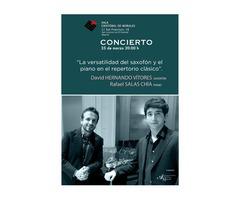 El Escorial. David Hernando - Rafael Salas - Saxofón y piano
