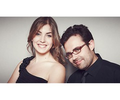 Iberian & Klavier piano dúo en el palacio de Carlos V
