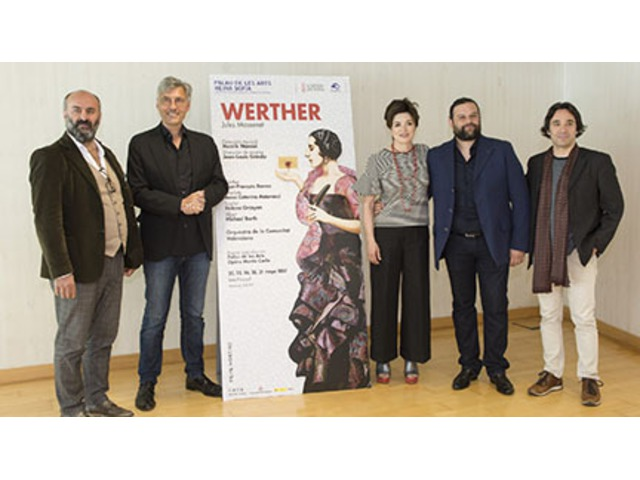 El Palau de les Arts Reina Sofía ofrece un nuevo montaje de Werther