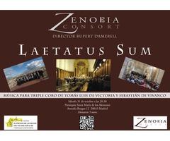 """Zenobia Consort """"Laetatus Sum"""""""