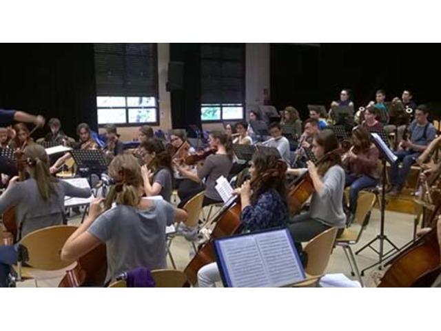 Presentación de la Jove Orquestra Simfònica de Barcelona