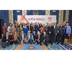 Radio Clásica presenta la temporada de su 50º aniversario