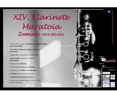XIV. Klarinete Maratoia