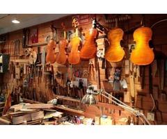 Luthier y restaurador/a de instrumentos musicales de arco