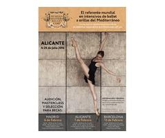 Audiciones presenciales para Russian Masters Ballet Camp 2016
