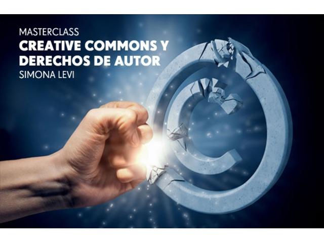 Masterclass Creative Commons y derechos de autor