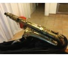 Vendo saxofón tenor selmer s 3 con tudel de plata