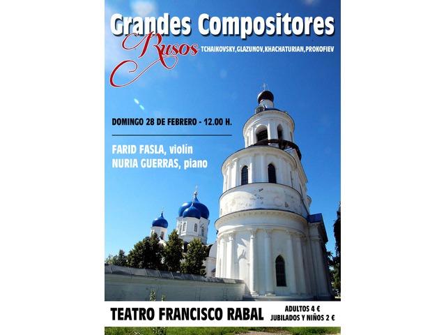 Grandes compositores rusos