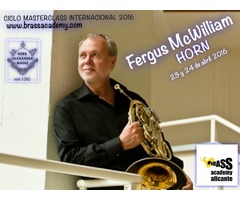 Masterclass trompa Fergus Mc William - Filarmonica de Berlin