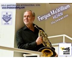 Masterclass trompa Fergus Mc William - Filarmonica de Berlin