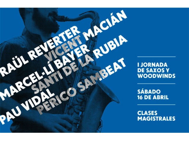 I Jornada de Saxos y Woodwinds
