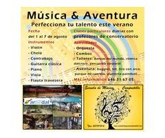 Curso de verano Música & Aventura Compostilla